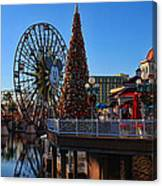 Disney California Adventure Christmas Canvas Print