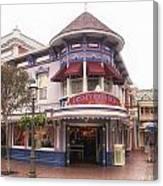 Disney Clothiers Main Street Disneyland 02 Canvas Print