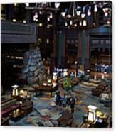 Disneyland Grand Californian Hotel Lobby 01 Canvas Print