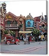 Disneyland Park Anaheim - 121232 Canvas Print