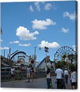 Disneyland Park Anaheim - 121235 Canvas Print