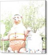 Disneyland Park Anaheim - 121245 Canvas Print