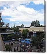 Disneyland Park Anaheim - 121250 Canvas Print