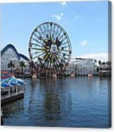 Disneyland Park Anaheim - 121252 Canvas Print