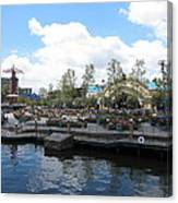 Disneyland Park Anaheim - 121255 Canvas Print