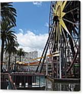 Disneyland Park Anaheim - 121257 Canvas Print
