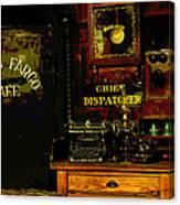 Dispatcher's Office Canvas Print