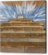 Display Hall At Temple Of Apollo Hylates Canvas Print