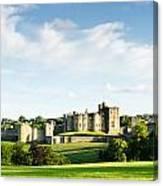 Distant Alnwick Castle Canvas Print