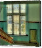 Distant Memories - Pullman High School Canvas Print
