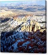 Distant Peaks Canvas Print
