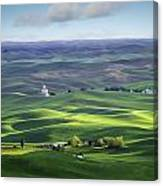 Distant Vista From Steptoe Butte Canvas Print