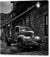 Distillery District Toronto Mono Canvas Print