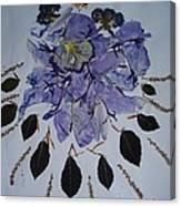 Distorted Flower-dream Canvas Print
