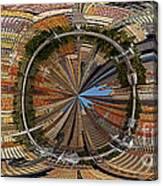 Distorted Lower Manhattan Canvas Print