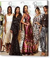Divas Of The Runway Canvas Print