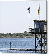 Dive Location The Scribbler Canvas Print