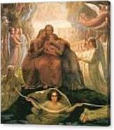 Divine Genesis Canvas Print