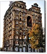Divine Lorraine Hotel In Philadelphia Canvas Print