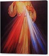 Divine Mercy Big File Canvas Print