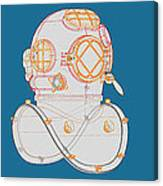 Diving Helmet Mark V Canvas Print