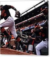 Division Series - Detroit Tigers V Canvas Print