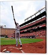 Division Series - Detroit Tigers V Canvas Print
