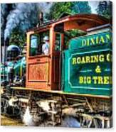 Dixiana Engine 3 Canvas Print