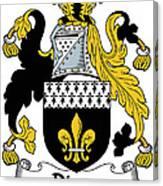 Dixon Coat Of Arms Irish Canvas Print