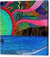 Dizzy Dana Point Canvas Print