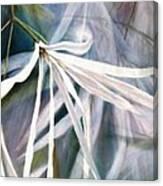Do Flowers Dance? Canvas Print