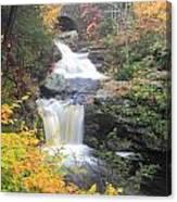 Doanes Falls Fall Foliage Canvas Print