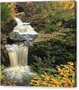 Doanes Falls In Autumn Canvas Print
