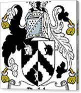 Dobb Coat Of Arms Irish Canvas Print