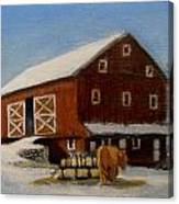 Dobbins Home Canvas Print