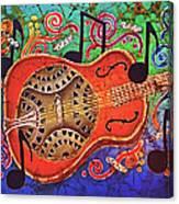 Dobro-slide Guitar-2 Canvas Print