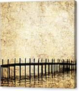 Dock 2 Canvas Print