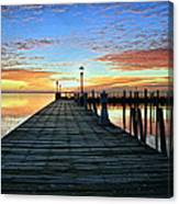 Dock A The Bay Canvas Print