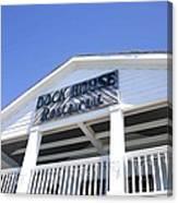 Dock House Restaurant Canvas Print