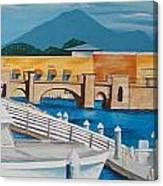 Dock On Mandalay Bay Canvas Print