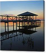 Dock On The Bay Canvas Print