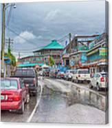 Dock Street - Cedar Key Canvas Print