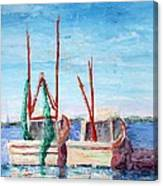 Docked Duo Canvas Print