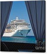 Docked In My Dreams Canvas Print
