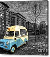 Docklands Ice Cream  Canvas Print