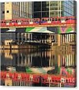 Docklands Railway London Canvas Print