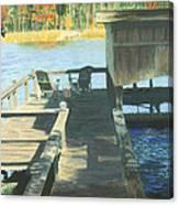 Docktime Canvas Print