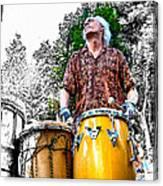 Doctor Drum Canvas Print