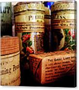 Doctor - Liver Pills In General Store Canvas Print