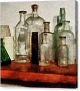 Doctor - Medicine Bottles Tall And Short Canvas Print